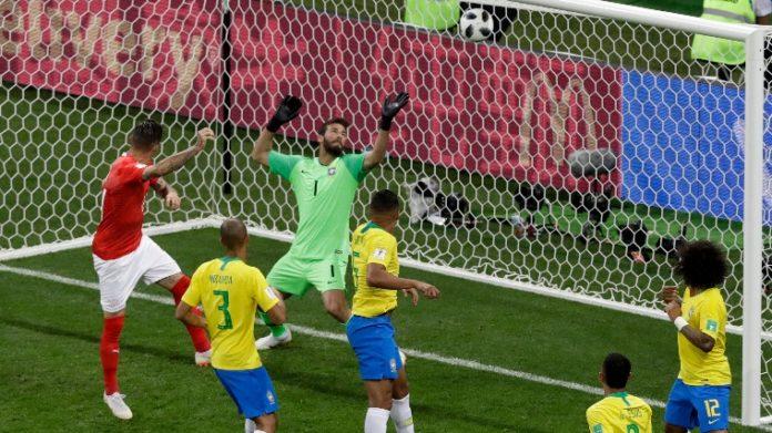 Brazília Svájc meccs