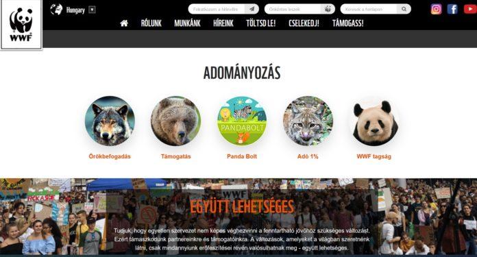 WWF adományozás